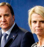 Stefan Löfven och Åsa Regnér. Arkivbild. Christine Olsson/TT / TT NYHETSBYRÅN