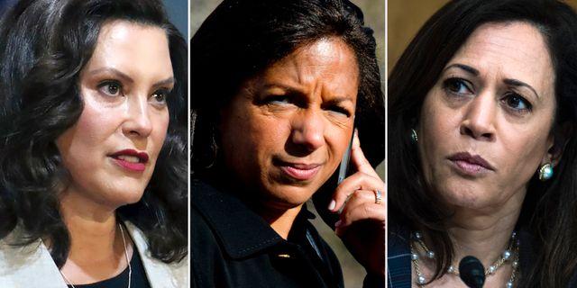 Gretchen Whitmer, Susan Rice och Kamala Harris är tre av de hetaste kandidaterna. TT