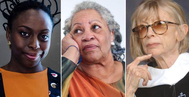 Chimamanda Ngozi Adichie/Toni Morrison/Joan Didion. TT
