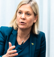 Finansminister Magdalena Andersson (S).  Amir Nabizadeh/TT