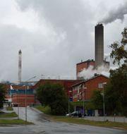 Billeruds massafabrik och pappersbruk i Karlsborg, Kalix kommun Wikimedia