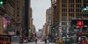 New York under coronautbrottet i mars. Bebeto Matthews / TT NYHETSBYRÅN