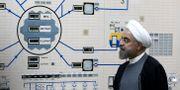 Irans president Hassan Rouhani vid en kärnreaktor år 2015. Mohammad Berno / TT NYHETSBYRÅN