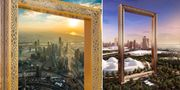 I januari öppnade Dubais nya landmärke – en 150 meter hög kontroversiell guldram. Wikicommons