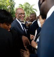 Haitis premiärminister Ariel Henry. Joseph Odelyn / TT NYHETSBYRÅN