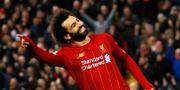 Dubble målskytten Mohamed Salah. PHIL NOBLE / BILDBYRÅN