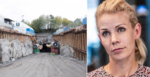 Tunnelbygget på Lovön/Anna König Jerlmyr. TT