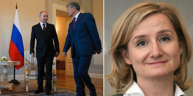 Putins franvaro eldar pa spekulationerna