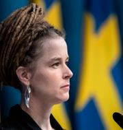 Kulturminister Amanda Lind (MP), arkivbild. Christine Olsson/TT / TT NYHETSBYRÅN