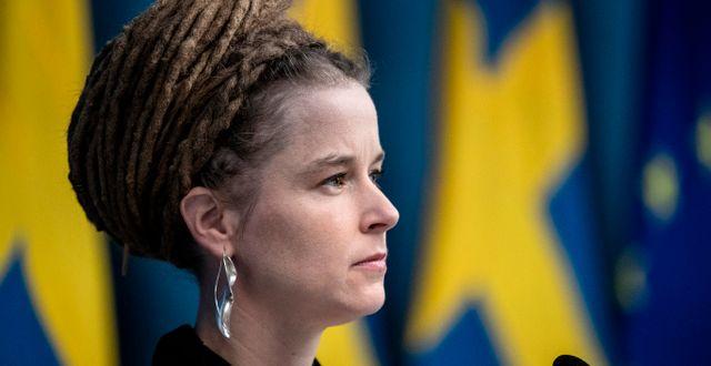 Aulturminister Amanda Lind (MP), arkivbild. Christine Olsson/TT / TT NYHETSBYRÅN