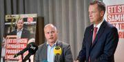 Morgan Johansson (S), jusitie- och inrikesminister och socialdemokraternas gruppledare Anders Ygeman. Jonas Ekströmer/TT / TT NYHETSBYRÅN