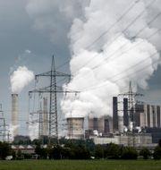 Brunkolskraftverk i Tyskland. Pontus Lundahl/TT / TT NYHETSBYRÅN