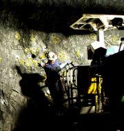 Arkivbild: Zinkgruvan utanför Motala.  DAVID MAGNUSSON / SVD / TT / SVD