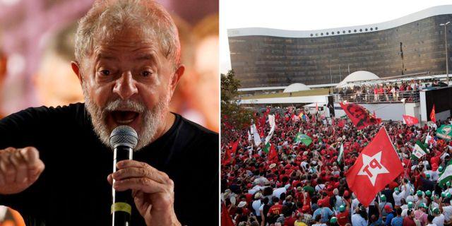 Lula da Silva och marschen.  TT.