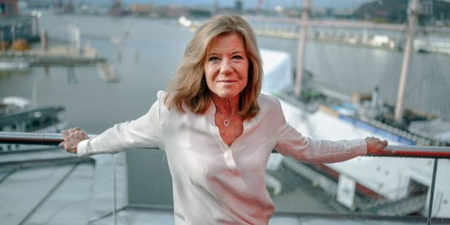 Lena Apler, ordförande i Collectors styrelse. Björn Larsson Rosvall/TT / TT NYHETSBYRÅN