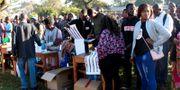 Människor köar för att få rösta i Malawi ELDSON CHAGARA / TT NYHETSBYRÅN