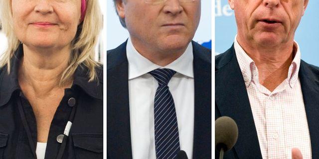 Facit: Marita Ulvskog (S), Lars Adaktusson (KD) och Gunnar Hökmark (M)