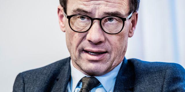 Ulf Kristersson. Tomas Oneborg/SvD/TT / TT NYHETSBYRÅN