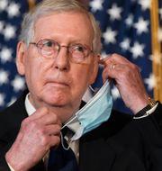 Republikanernas ledare i senaten, Mitch McConnell. Susan Walsh / TT NYHETSBYRÅN