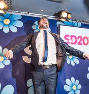 SD-ledaren Jimmie Åkesson  Lars Pehrson/SvD/TT / TT NYHETSBYRÅN
