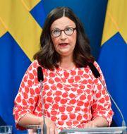 Anna Ekström. Jonas Ekströmer/TT / TT NYHETSBYRÅN