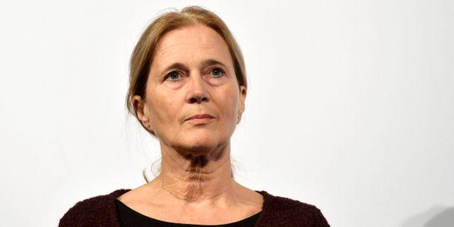 Katarina Frostenson. VILHELM STOKSTAD / TT / TT NYHETSBYRÅN