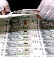 Illustrationsbild Riksbanken / TT NYHETSBYRÅN