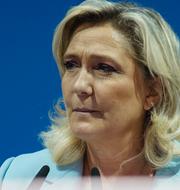 Eric Zemmour (Arkivbild) och Marine Le Pen TT