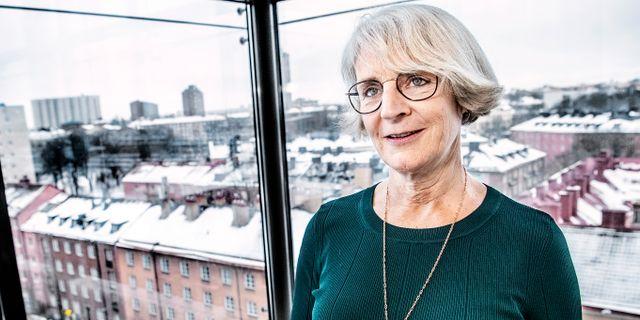 Skandias vd Johanna Cerwall. Arkivbild. Tomas Oneborg/SvD/TT / TT NYHETSBYRÅN