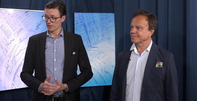 First Ventures grundare Rune Nordlander och Peter Werme.