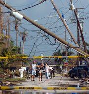 Arkivbild: Förödelse efter orkan Jeanne i USA 2004. JOHN L. WHITE / TT NYHETSBYRÅN/ NTB Scanpix