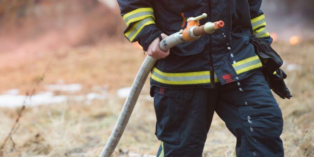 Varning vid storbrand i kalmar