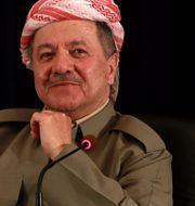 Masoud Barzani. Khalid Mohammed / TT NYHETSBYRÅN