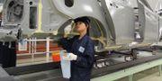 Arkivbild: Volvos fabrik i kinesiska Chengdu. KARIN OLANDER / TT / TT NYHETSBYRÅN