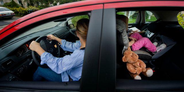 Bilförare. Arkivbild. JESSICA GOW / TT / TT NYHETSBYRÅN
