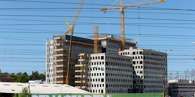 Arkiv, bygge i Stockholm. JANERIK HENRIKSSON / TT / TT NYHETSBYRÅN
