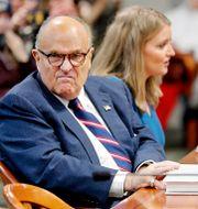 Rudy Giuliani i en rättssal i Michigan i december. Mike Mulholland / TT NYHETSBYRÅN