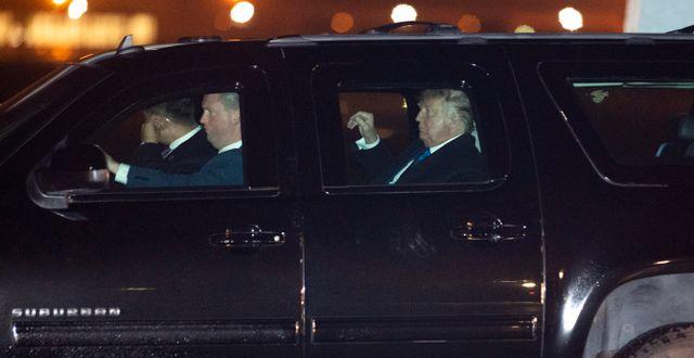 Donald Trump. Kevin Wolf / TT NYHETSBYRÅN