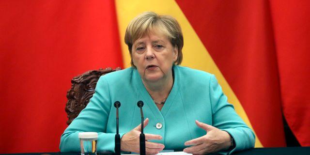 Angela Merkel.  Andrea Verdelli / TT NYHETSBYRÅN