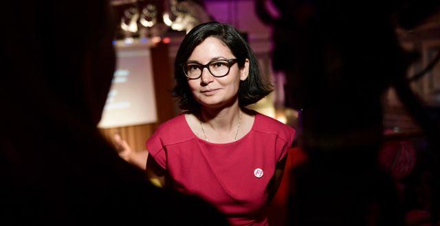 Gita Nabavi. Stina Stjernkvist/TT / TT NYHETSBYRÅN