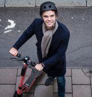 Fredrik Hjelm, vd och medgrundare till Voi.  Stina Stjernkvist/TT / TT NYHETSBYRÅN