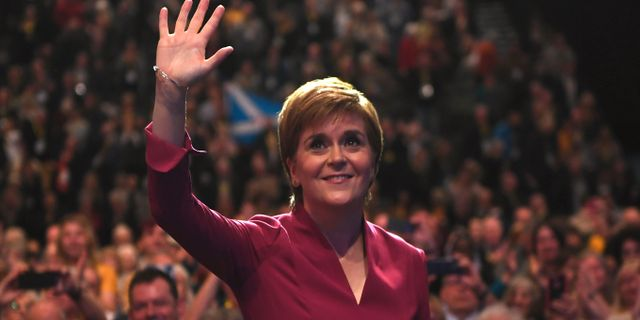 Nicola Sturgeon.  ANDY BUCHANAN / AFP