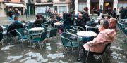 Översvämning i Venedig 2019. Emiliano Crespi / TT NYHETSBYRÅN
