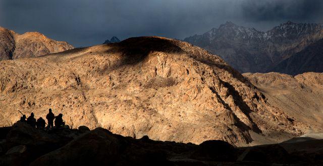 Området Ladakh som är omstritt. Manish Swarup / TT NYHETSBYRÅN