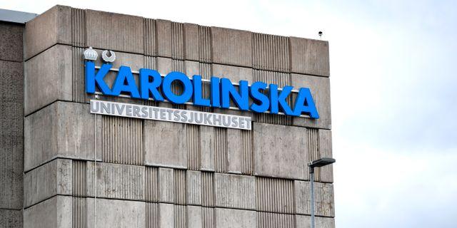 Karolinska Universitetssjukhuset. Erik Simander/TT / TT NYHETSBYRÅN