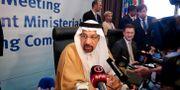 Saudiarabiens energiminister Khalid al-Falih. RAMZI BOUDINA / TT NYHETSBYRÅN