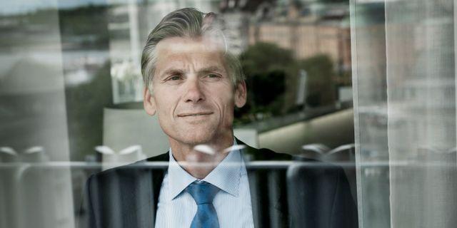 Arkivbild: Danske Banks vd Thomas Borgen.  Malin Hoelstad / SvD / TT / TT NYHETSBYRÅN