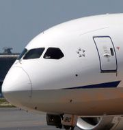 Boeings 787-plan. Shizuo Kambayashi / TT NYHETSBYRÅN