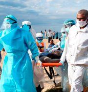 Räddningsinsats i Sri Lanka TT NYHETSBYRÅN