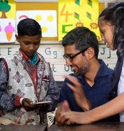 Sundar Pichai, Googles vd. Rajanish Kakade / TT NYHETSBYRÅN